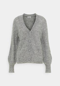 Moss Copenhagen - SABELLA CARDIGAN - Neuletakki - mottled grey