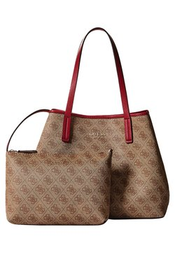 Guess - VIKKY SET - Käsilaukku - brown