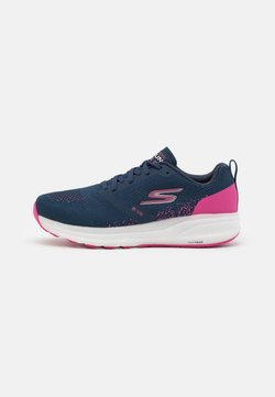 Skechers Performance - GO RUN RIDE 8 - Zapatillas de running neutras - navy/pink