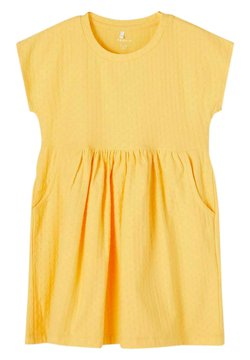 Name it - Jerseykleid - sunset gold