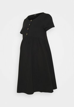 ONLY - OLMLILLI BADYDOLL DRESS - Vestido ligero - black