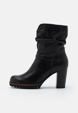 Marco Tozzi - BOOTS - Plateaustiefelette - black antic
