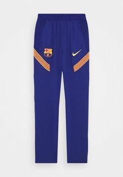 Nike Performance - FC BARCELONA  PANT - Equipación de clubes - deep royal blue/amarillo