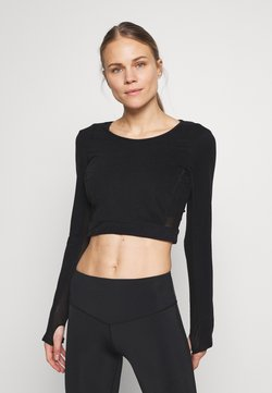 L'urv - ESTUARY - Camiseta básica - black