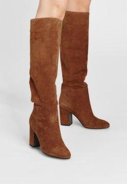 What For - VIDKA - High Heel Stiefel - cognacbraun