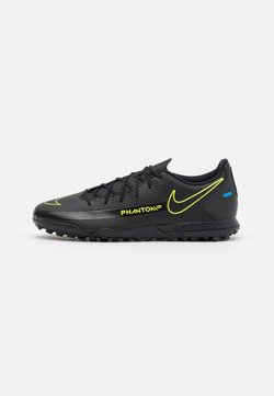 Nike Performance - PHANTOM GT CLUB TF - Astro turf trainers - black/cyber/light photo blue