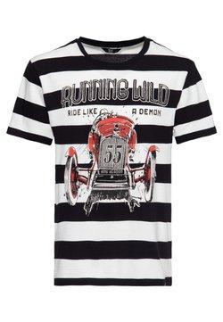 King Kerosin - T-Shirt print - gestreift