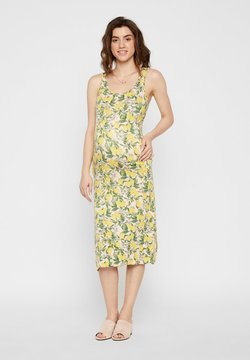 MAMALICIOUS - Robe d'été - off-white/yellow/green