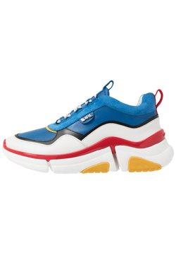 KARL LAGERFELD - VENTURE LAZARUS  - Sneaker low - navy/white