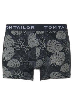 TOM TAILOR - UNDERWEAR GEMUSTERTE HIP-PANTS - Shorty - blue-dark-allover