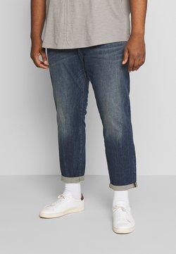 TOM TAILOR MEN PLUS - Slim fit jeans - mid stone wash denim