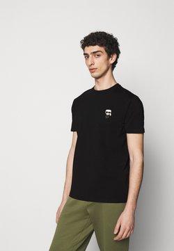 KARL LAGERFELD - CREWNECK - Print T-shirt - black