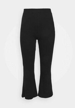 Simply Be - WIDE LEG TROUSERS - Pantalon classique - black