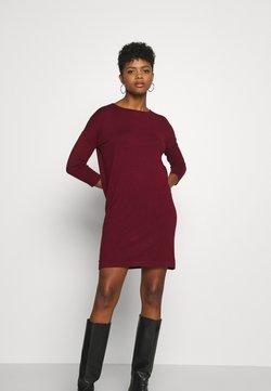 Vero Moda - VMGLORY VIPE AURA DRESS - Vestido de punto - cabernet