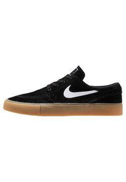 Nike SB - ZOOM JANOSKI - Sneakers laag - black/white/light brown/photo blue/hyper pink