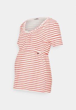 LOVE2WAIT - SHIRT NURSING BRETON - T-Shirt print - red