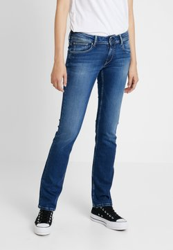 Pepe Jeans - HOLLY - Jean droit - stone blue denim