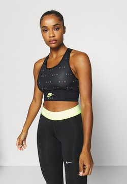 Nike Performance - AIR BRA  - Urheiluliivit - black/volt