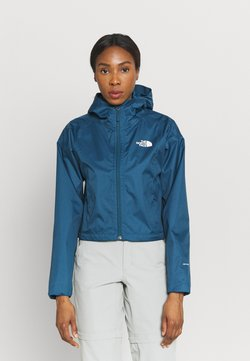 The North Face - CROPPED QUEST JACKET  - Hardshelljacke - monterey blue