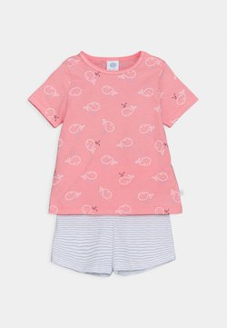 Sanetta - SHORT ALLOVER SET UNISEX - Pijama - pink/light blue