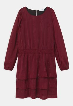 Grunt - LILJE - Sukienka koktajlowa - velvet red