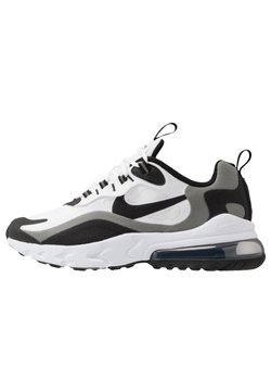 Nike Sportswear - AIR MAX 270 REACT - Sneakers laag - white/black/metallic pewter