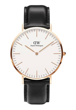 Daniel Wellington - CLASSIC SHEFFILED 40M - Horloge - black