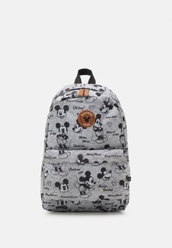 Kidzroom - BACKPACK MICKEY MOUSE NEVER OUT OF STYLE LARGE UNISEX - Ryggsäck - grey