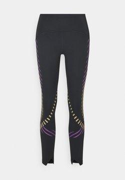 Nike Performance - SPEED RUNWAY - Medias - black/reflective silv
