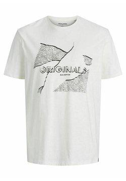 Jack & Jones - JORRON TEE CREW NECK - T-shirt imprimé - cloud dancer