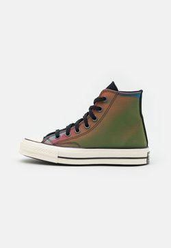 Converse - CHUCK 70 IRIDESCENT UNISEX - Sneakers hoog - black/multicolor/white