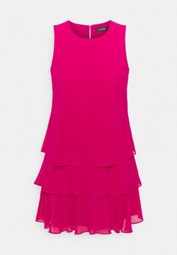 Lauren Ralph Lauren Petite - TYREE SLEEVELESS DAY DRESS - Sukienka koktajlowa - aruba pink