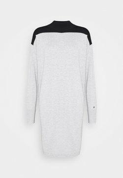 Calvin Klein - DRESS - Jumper dress - light grey heather