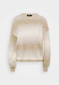 ONLY - ONLRECCA  - Strickpullover - pumice stone/space dye