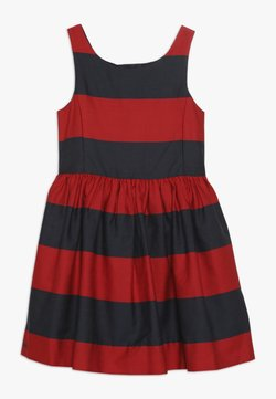 Polo Ralph Lauren - FIT DRESSES - Freizeitkleid - red/navy