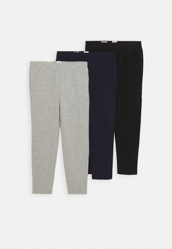 GAP - 3 PACK - Leggings - grey/blue/black
