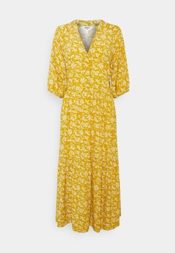 Object Tall - OBJSOPHIA DRESS TALL - Blusenkleid - honey mustard