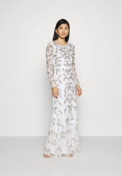 Maya Deluxe - ALL OVER FLORAL DRESS - Ballkleid - ivory