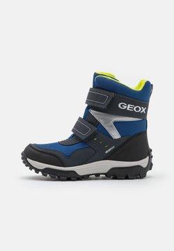 Geox - HIMALAYA BOY WPF - Bottes de neige - navy/lime