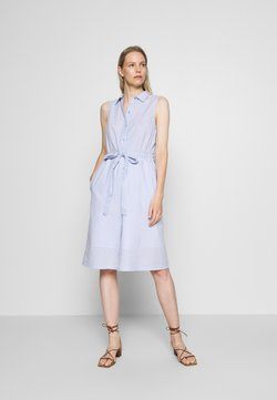TOM TAILOR - DRESS STYLE WITH STRIPES - Blusenkleid - blue