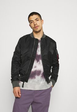 Alpha Industries - Giubbotto Bomber - black/grey black