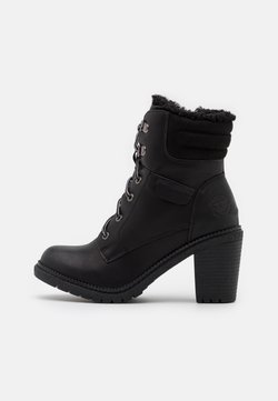 Refresh - Schnürstiefelette - black
