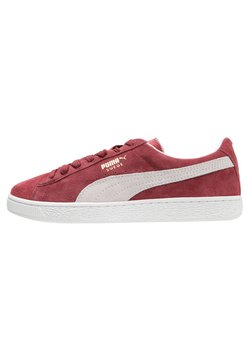 Puma - SUEDE CLASSIC+ - Sneakers laag - bordeaux/beige
