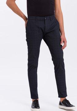Cross Jeans - Chino - navy-kariert