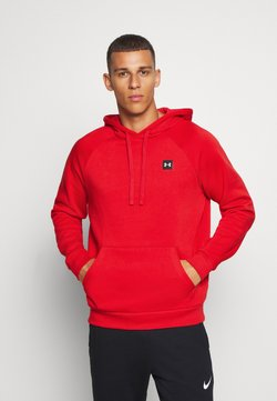 Under Armour - RIVAL  - Huppari - red