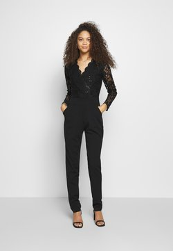 WAL G PETITE - LONG SLEEVES - Jumpsuit - black