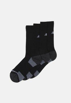 New Balance - MENS CREW 3 PACK UNISEX - Sportsocken - black