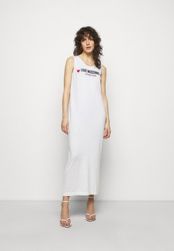 Love Moschino - Strickkleid - optical white