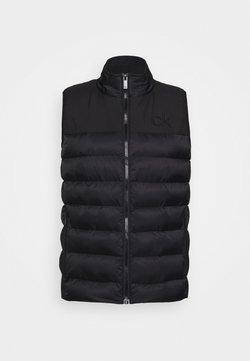 Calvin Klein Golf - LASSEN GILET - Bodywarmer - black