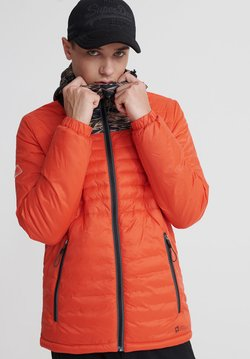 Superdry - SUPERDRY DESERT ALCHEMY QUILTED JACKET - Winterjacke - baja orange